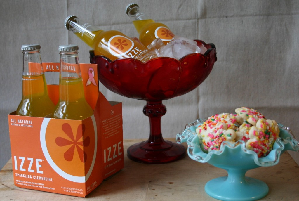 Izze brand sodas are all natural and come in great single-serve bottles.