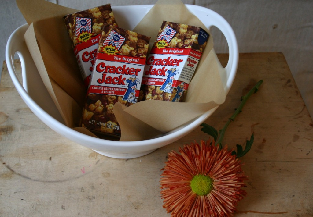 Cracker Jack is something completely new and exciting for young children - they can't get over the packaging and the prize inside.