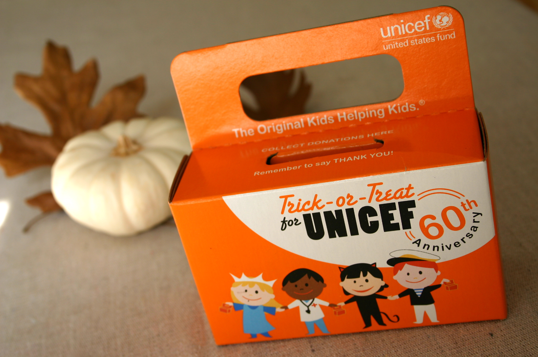 Children love to help other children - it makes them feel good! Help your child collect for Unicef this year and start a tradition with real meaning.