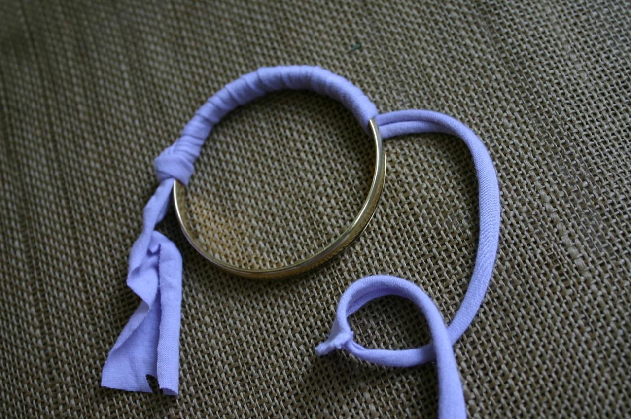 Как сделать браслет на завязках