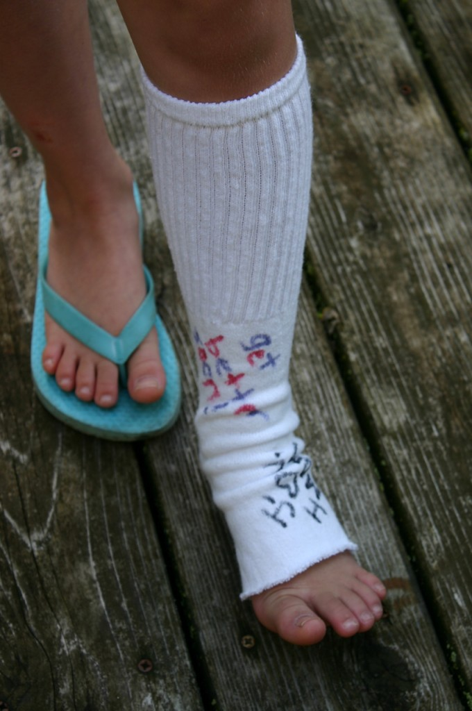 how to know where to kttape ur ankle