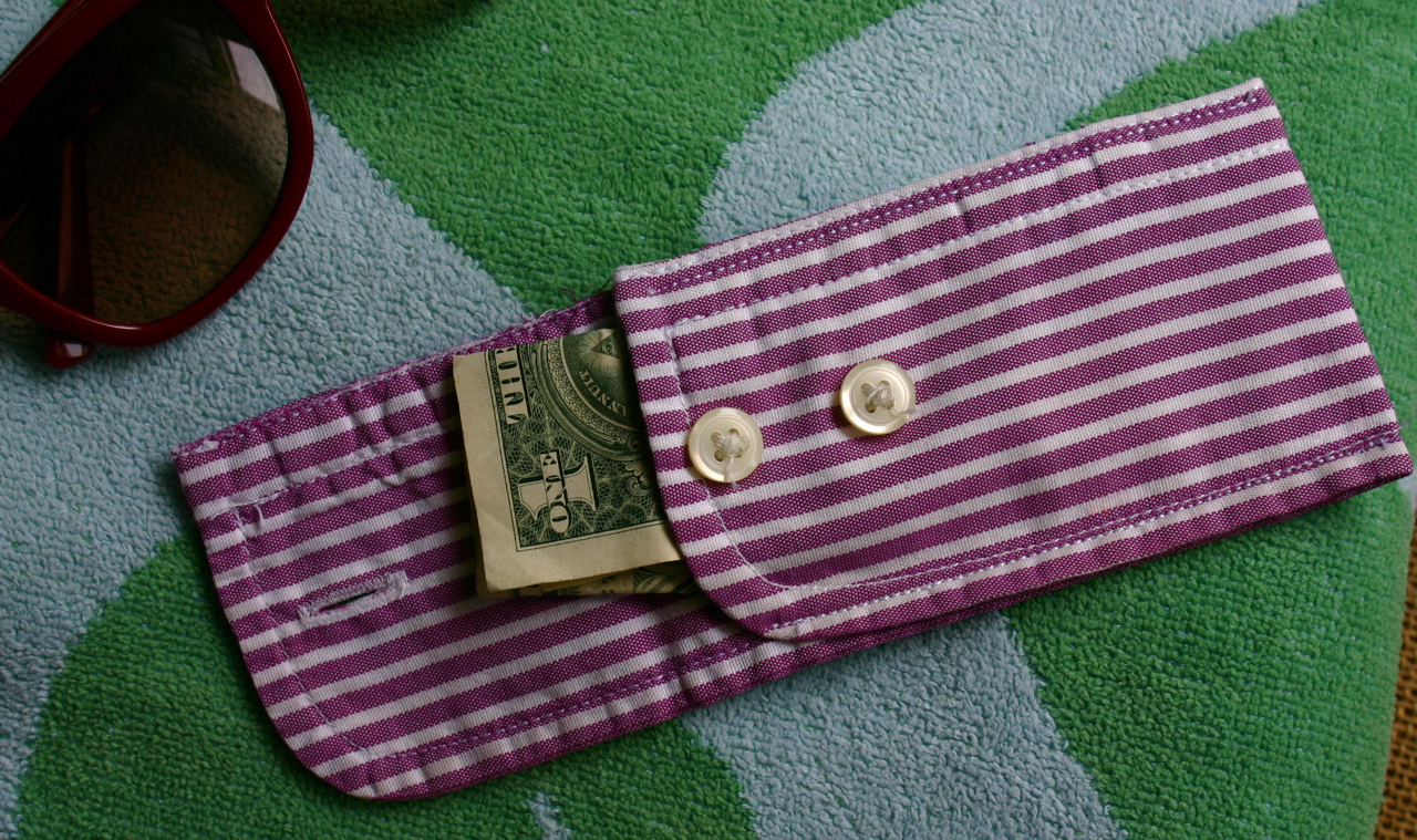 """Trick Up My Sleeve"" Coin Purse"