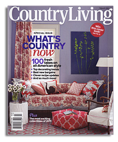 Country Living Magazine March 2011