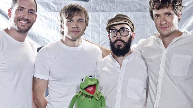 OK Go with Kermit the frog.
