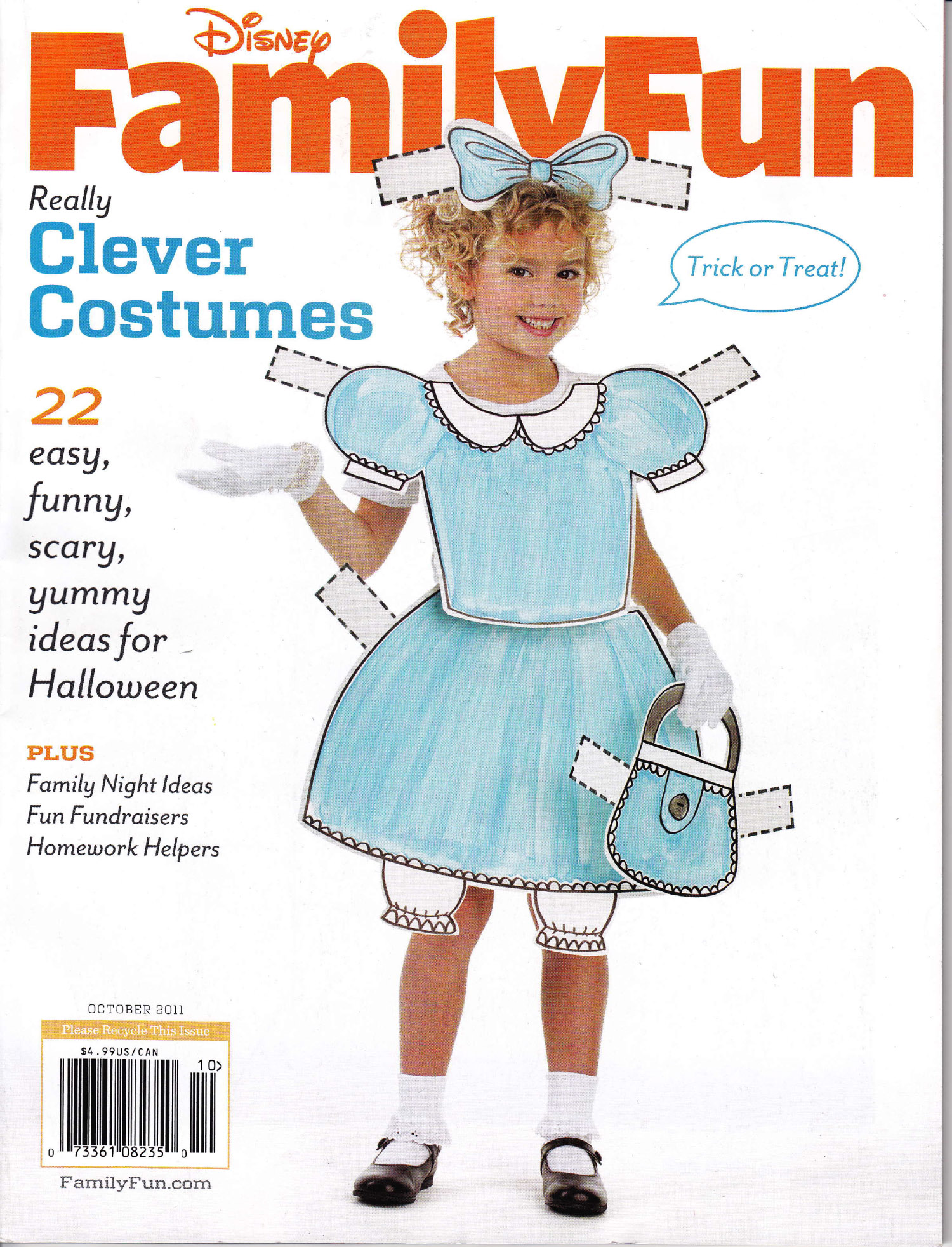 Family Chic Pumpkins In Family Fun Magazine | Family Chic by Camilla ...