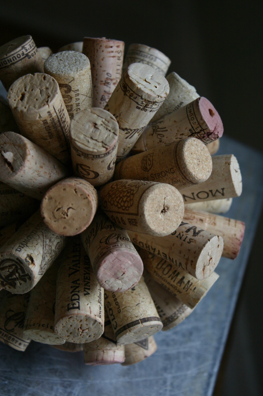 Cork burst family chic by camilla fabbri 2009 2015 all for Cork balls for crafts