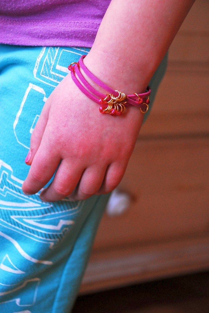 Family Chic rubber band bracelets