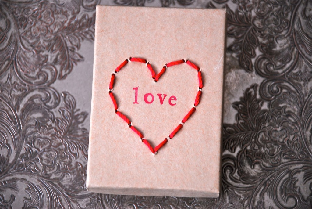 Family Chic Valentine's Day craft.