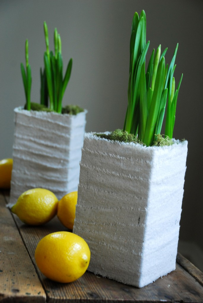 Family Chic Spring Centerpiece