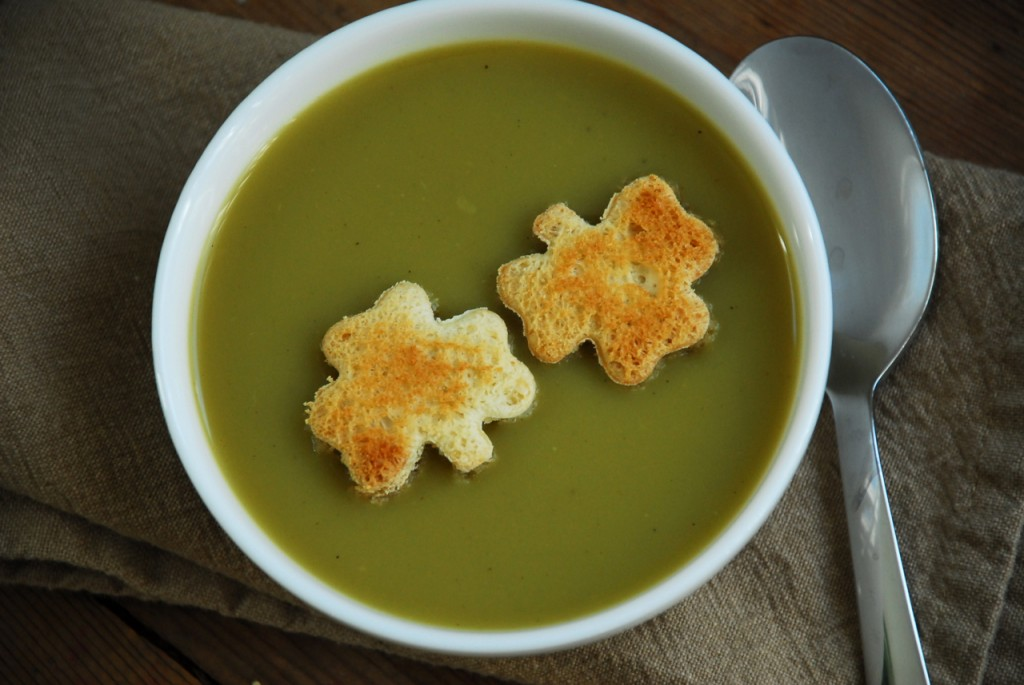 Family Chic Shamrock Soup