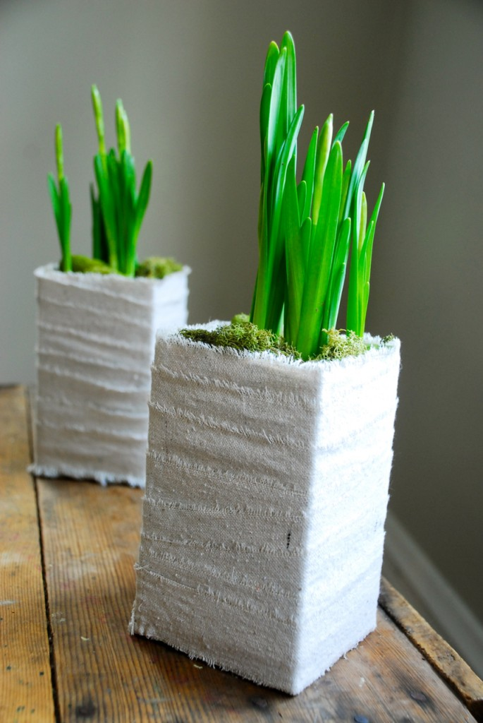 Family Chic centerpiece for spring