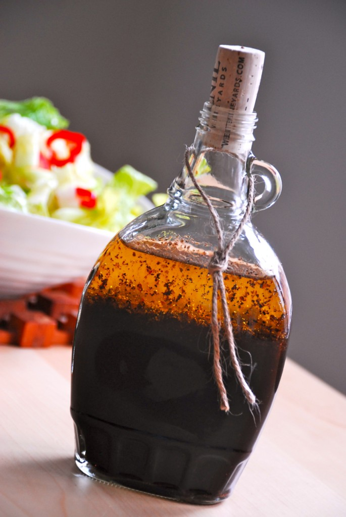 Family Chic Salad dressing bottle