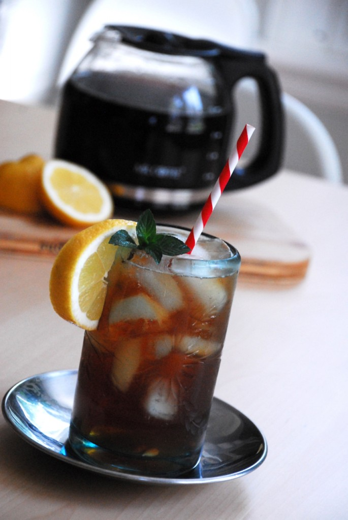how to make iced tea using davidstea