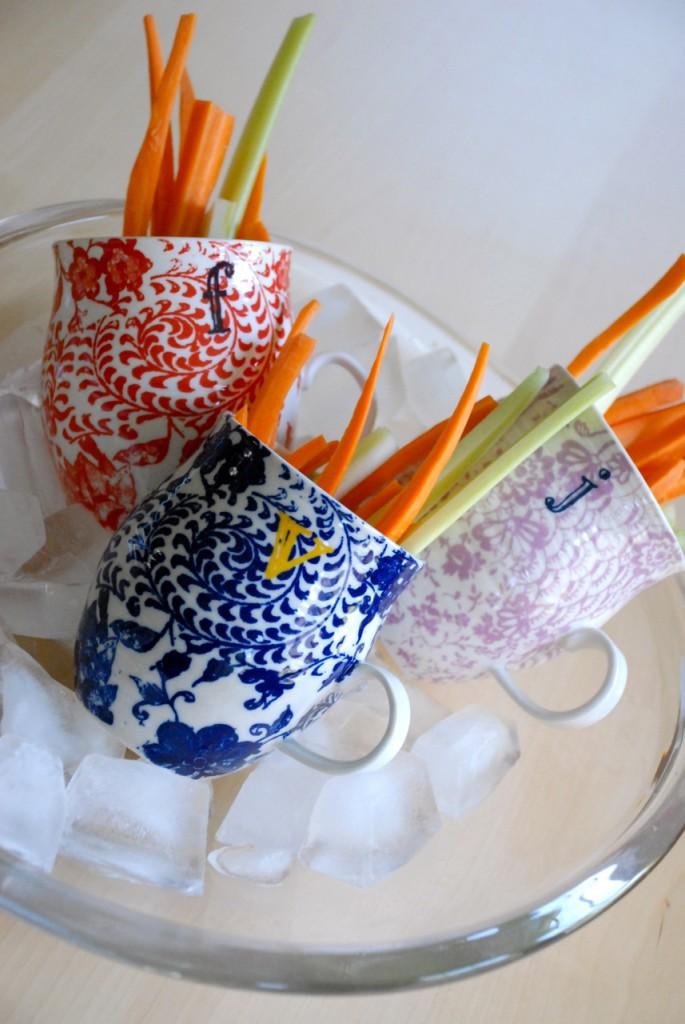 Family Chic Iced Veggie Mugs