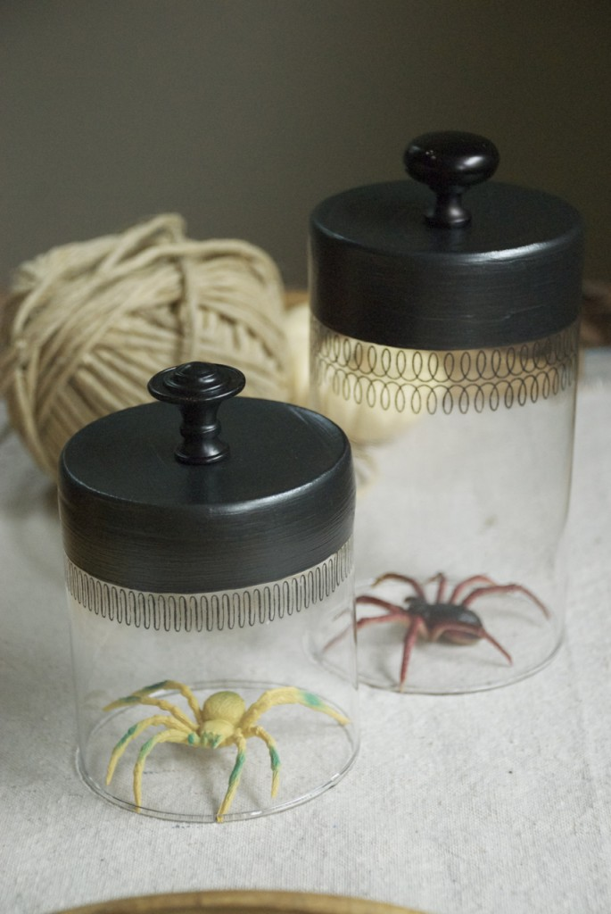 Illuminated Spider Cloches Family Chic By Camilla Fabbri