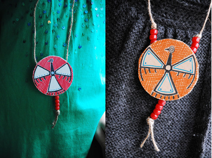 diy native american medallions family chic by camilla
