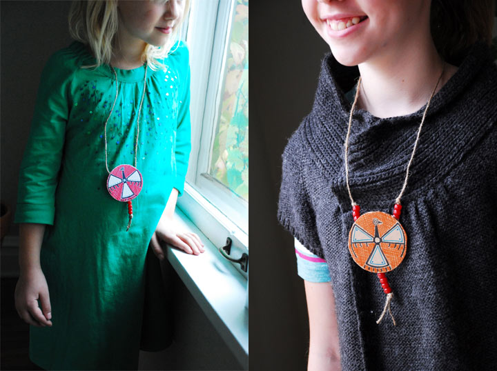 Indian Necklaces Kids Craft