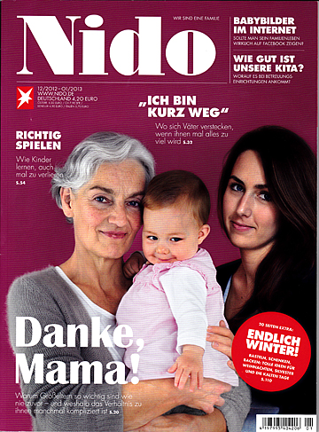 Family Chic featured in Nido magazine