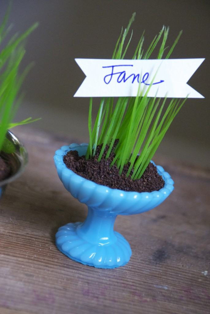Family Chic Fake Spring Centerpiece