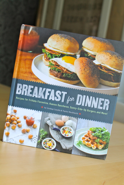"Enter for a chance to win your own copy of ""Breakfast for Dinner"" by Lindsay Landis & Taylor Hackbarth (Quirk Books, 2013)."