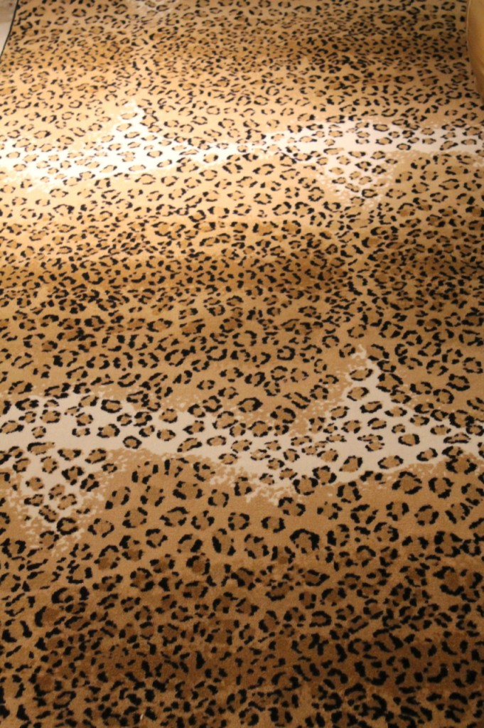 Cheap Thrills Leopard Print Rug Family Chic By Camilla