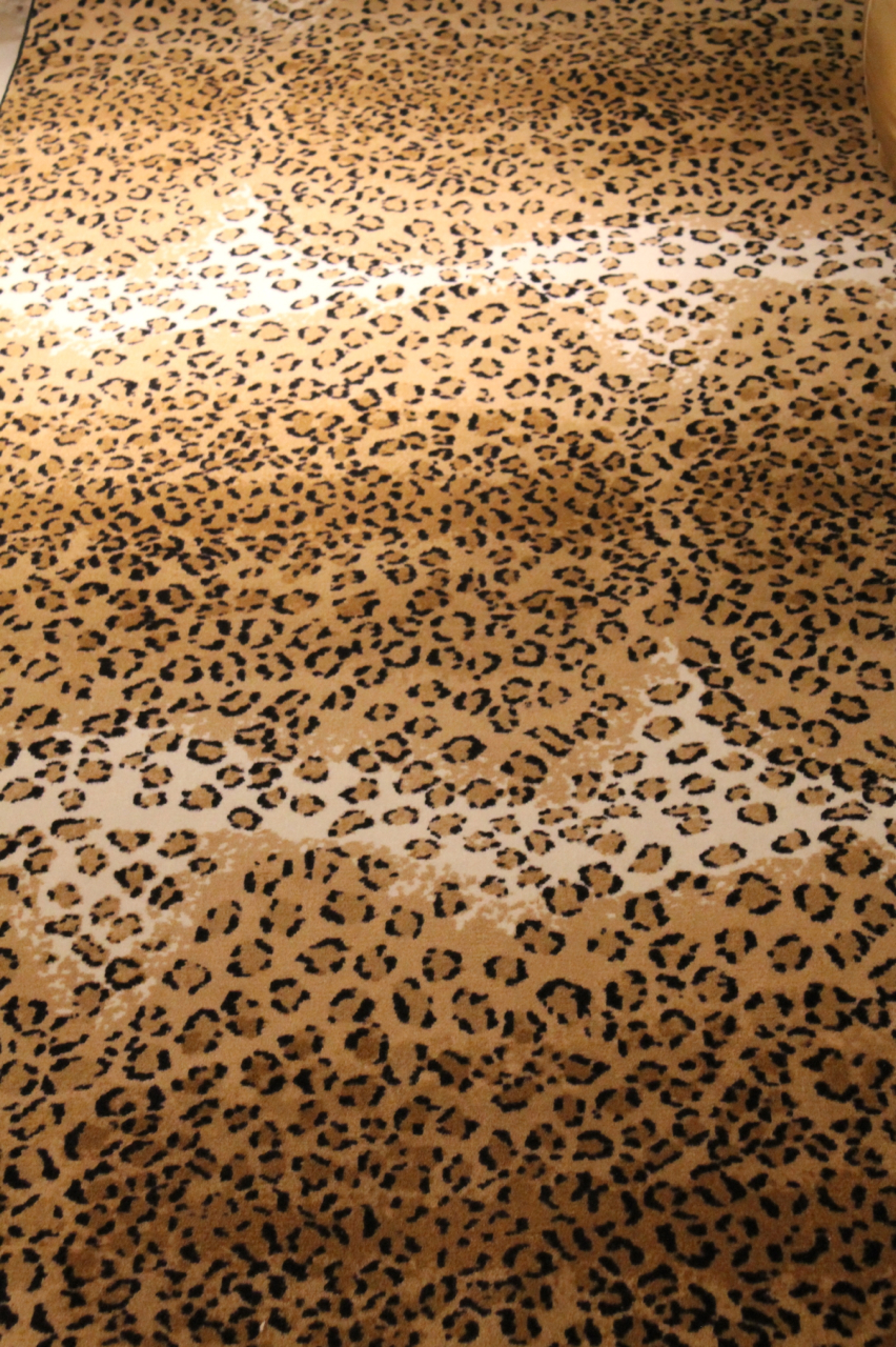 Leopard Rug Home Decor
