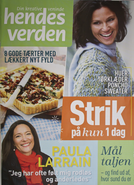 The Feb. issue of Hendes Verden.