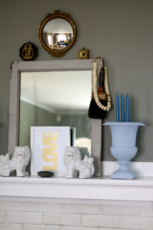 Family Chic Mantel 1