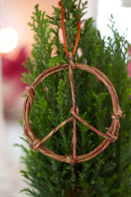 Peace Ornament 1