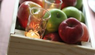Apple Crate Centerpiece