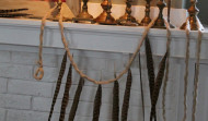 Easy Feather Garland