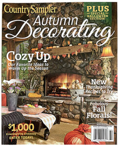 Country Sampler Autumn Decorating magazine cover