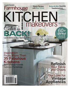 Country Sampler Farmhouse Style - Kitchen Makeover cover