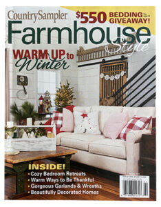 Country Sampler Farmhouse Style - cover 3