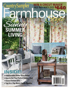 Country Sampler Farmhouse Style magazine - cover 5